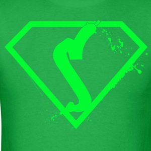 Super sprayer  -green - Men's T-Shirt