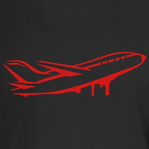 An airplane Long Sleeve Shirts - Men's Long Sleeve T-Shirt