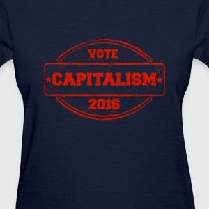 Women's Vote Capitalism - Women's T-Shirt