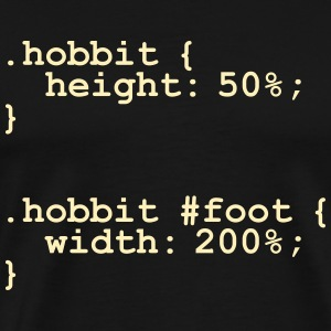The Hobbit Code T-Shirts - Men's Premium T-Shirt