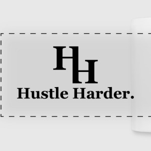 Hustle Harder Mug - Panoramic Mug