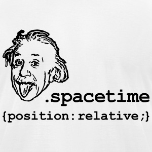 Position Relativity T-Shirts - Men's T-Shirt by American Apparel