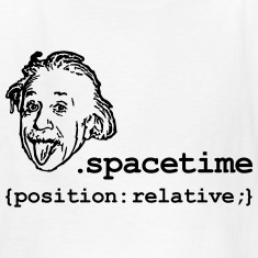 Position Relativity Kids' Shirts