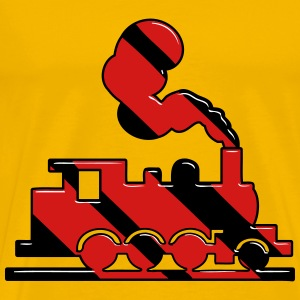 dampflok railroad toy T-Shirts - Men's Premium T-Shirt