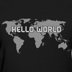 Hello World White Women's T-Shirts