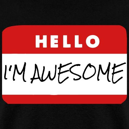 Hello I'm Awesome