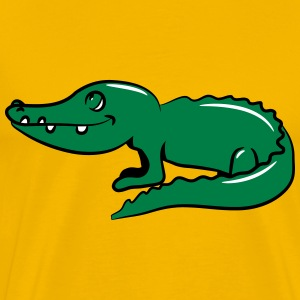 child crocodile sweet loving T-Shirts - Men's Premium T-Shirt