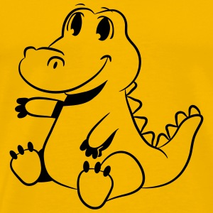Crocodile sweet child baby T-Shirts - Men's Premium T-Shirt