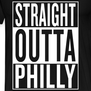 straight outta Philly T-Shirts - Men's Premium T-Shirt