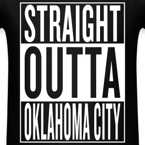 straight outta Oklahoma T-Shirts - Men's T-Shirt