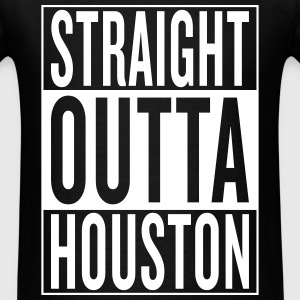 straight outta Houston T-Shirts - Men's T-Shirt