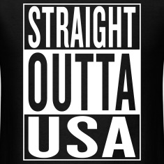 straight outta USA T-Shirts
