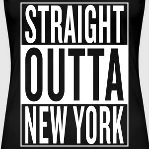 straight outta New York Women's T-Shirts - Women's Premium T-Shirt