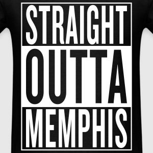 straight outta Memphis T-Shirts - Men's T-Shirt