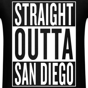straight outta San Diego T-Shirts - Men's T-Shirt