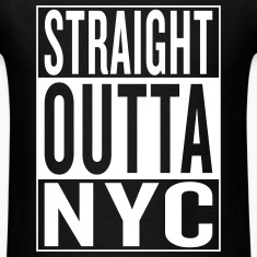 straight outta NYC T-Shirts