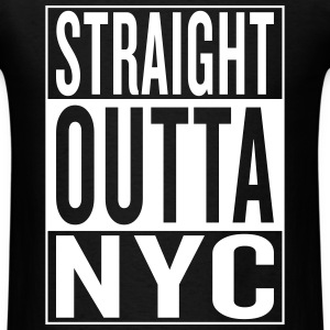 straight outta NYC T-Shirts - Men's T-Shirt