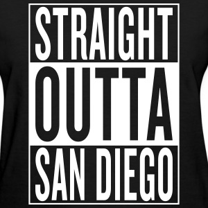 straight outta San Diego Women's T-Shirts - Women's T-Shirt