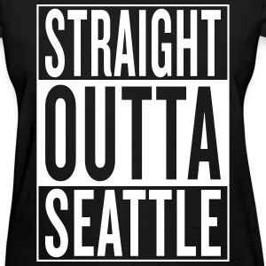 straight outta Seattle Women's T-Shirts - Women's T-Shirt