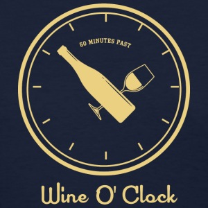 Wine O' Clock_cream - Women's T-Shirt