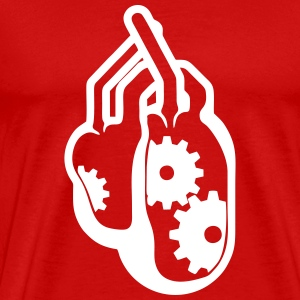 mechanical heart Shirt - Men's Premium T-Shirt