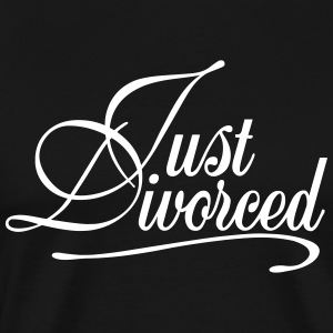 Just Divorced T-Shirts - Men's Premium T-Shirt
