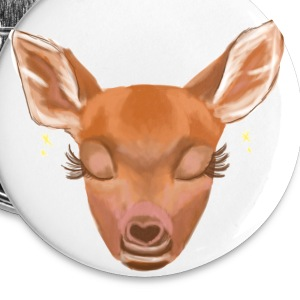 Fawn Buttons - Large Buttons