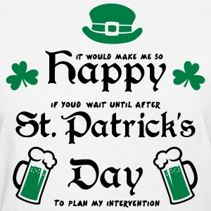 Happy St. Patrick's Day Women's T-Shirts - Women's T-Shirt