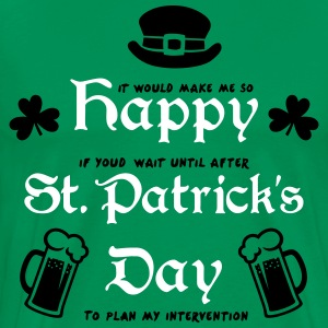 Happy St. Patrick's Day T-Shirts - Men's Premium T-Shirt