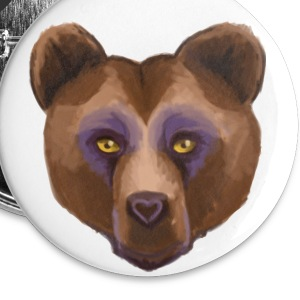 Grizzly Buttons - Large Buttons