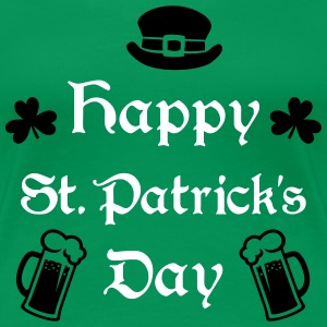 Happy St. Patrick's Day Women's T-Shirts - Women's Premium T-Shirt