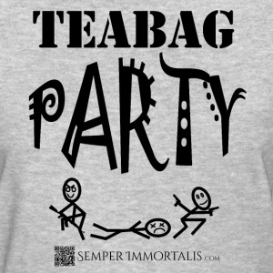Women's Teabag Party shirt - Women's T-Shirt