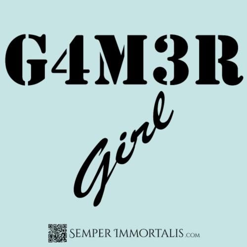 Gamer Girl (black)