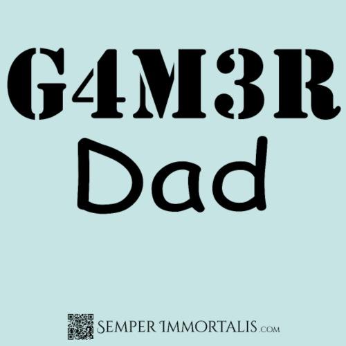 Gamer Dad (black)