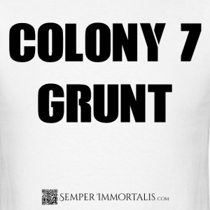 Men's Colony 7 Grunt shirt - Men's T-Shirt