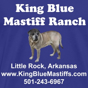King Blue Mastiff Classic T - Men's Premium T-Shirt