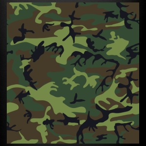 Woodland camouflage - Full Color Mug