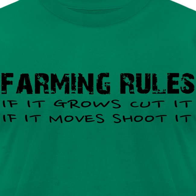 Limited: Farming Rules