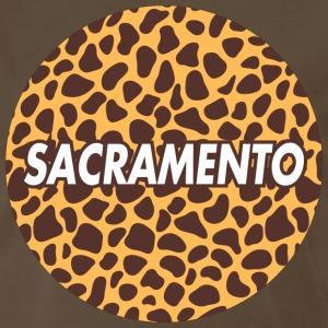 sacramento Animal print shirt - Men's Premium T-Shirt