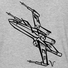 X-Wing Fighter [Artist Rendering 1] Men's Baseball