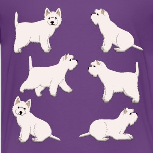 West Highland Terrier  Kids' Shirts - Kids' Premium T-Shirt