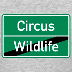 Wildlife Circus Hen Party City Sign T-Shirt