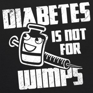Diabetes Is Not For Wimps Sweatshirts - Kids' Hoodie