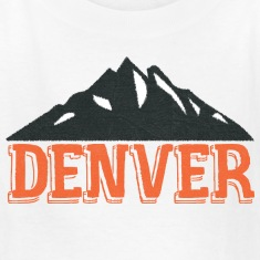 Vintage Denver Rocky Mountains  Kids' Shirts