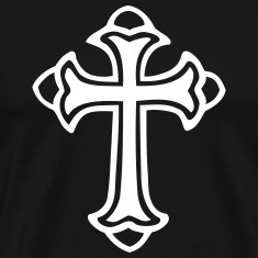Cross Filled T-Shirts