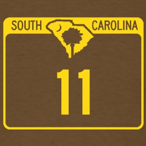 SC scenic highway 11 - Men's T-Shirt
