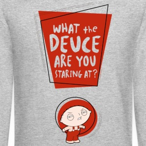 Family Guy what the deuce are you staring at? - Crewneck Sweatshirt
