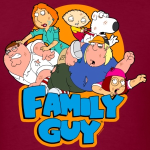 Family Guy Characters - Men's T-Shirt