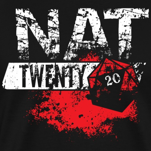NAT 20 RPG Tee