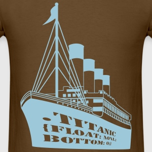 Titanic in CSS T-Shirts - Men's T-Shirt